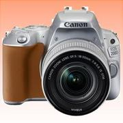 New Canon EOS 200D 24.2MP Kit (18-55mm) Digital Camera Silver (FREE INSURANCE + 1 YEAR AUSTRALIAN WARRANTY)